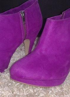 Kup mój przedmiot na #Vinted http://www.vinted.pl/kobiety/botki/9780759-fioletowe-botki-na-obcasie