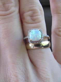 Love that opal ring! But in white or rose gold