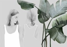 Foliage Women illustration