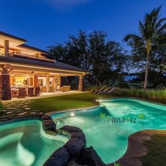 """Resort home in Hawaii.  Architectural Photography by @PanaViz   #panaviz #resortphotography"