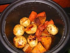 Roast Vegetables in a Rice Cooker