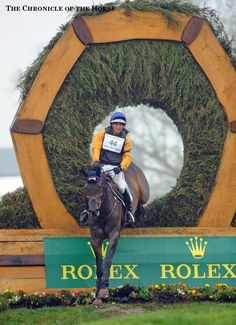 Phillip Dutton and Fernhill Cubalawn   2015 Rolex Kentucky Cross-Country  Photo by Sara Lieser  | The Chronicle of the Horse