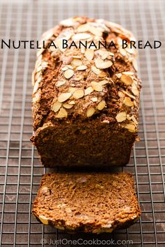 Nutella Banana Bread | JustOneCookbook.com