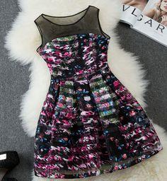 Summer Fashion Sleeveless Dress