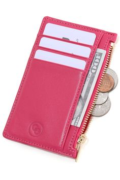 Luxurious Premium Grade Leather RFID Smart Tech built-in to block thieves scanning your cards. Looks trendy & feels classy. Carries 5 cards with room for notes. The perfect travel accessory. Card Wallet, Purse Wallet, Coin Purse, Minimalist Wallet, Minimalist Fashion, Slim Wallet, Wallets For Women, Bag Making, Purses And Bags