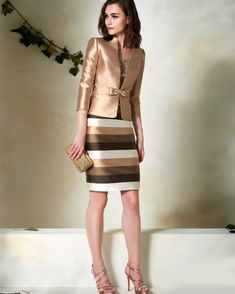 41 Office Outfit for Ladies Office Outfits For Ladies, Office Dresses For Women, Clothes For Women, Elegant Dresses, Pretty Dresses, Beautiful Dresses, Classy Dress, Classy Outfits, Indian Designer Outfits