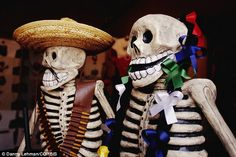Day of the Dead: The celebration originated as a ritual in South America as long as 3,000 years ago - and was merged with Catholicism following the Spanish Conquest