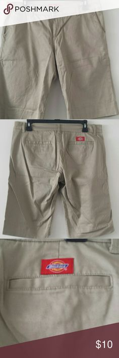 b198cdb1f5b Dickies shorts Juniors size 13 Khaki color Knee length NWOT Perfect for a  school or work uniforms Dickies Shorts Bermudas