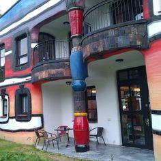 Hundertwasser gebouw