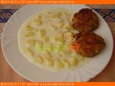 Zemiakový prívarok na kyslo Slovak Recipes, Czech Recipes, Ethnic Recipes, What To Cook, Summer Recipes, Ham, Mashed Potatoes, Recipies, Food And Drink