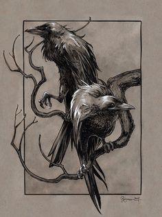 Loki Tattoo, Rune Tattoo, Norse Tattoo, Viking Tattoos, Crow Tattoos, Deer Tattoo, Tattoo Tree, Tattoo Ink, Arm Tattoo