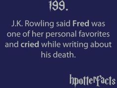 fred weasley's death