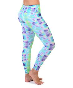 Look at this Psychedelic Elongate Leggings on #zulily today!
