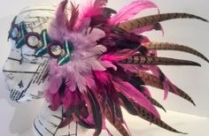 Luxe Pheasant Ostrich & Rooster Embellished by SparkleKittenLove, £50.00