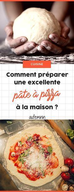 Comment préparer une excellente pâte à pizza maison ? Tous nos secrets cuisine pour la réussir facilement ! /// #aufeminin #cuisineitalienne #recetteitalienne #pizzanapolitaine #pizza #pizzamaison #recettepizza #pâteàpizza #pizzafacile
