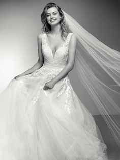 FTW Bridal Wedding Dresses Wedding Dresses Online, Wedding Dress Plus Size, Collection features dresses in all styles as well as more traditional silhouettes. Customize your bridal gown now! Wedding Dresses Plus Size, Bridal Wedding Dresses, Bridesmaid Dresses, Prom Dresses, Pronovias Dresses, Pronovias Wedding Dress, Ball Dresses, Ball Gowns, Lace Applique