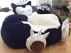 Snorlax Bean Bag Chairmakes Perfect Sense