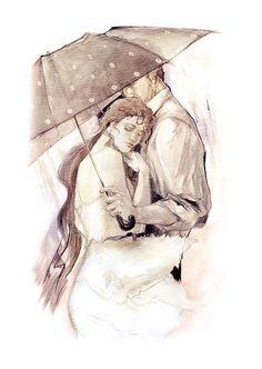 Cherish study #Liebe #Zeichnung von: Lena Sotskova