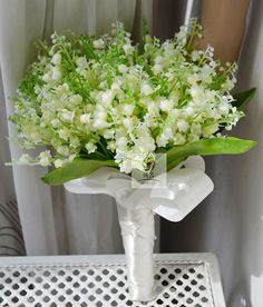 wedding bouquet artificial real touch flower plastic by Wendyslife, $56.00