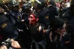 Segunda marcha minera en Madrid |