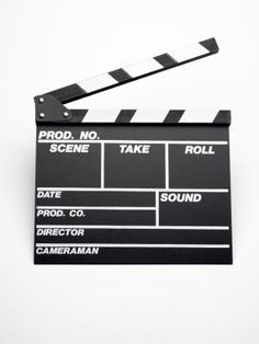 How To Make A Movie Clapboard