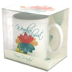 pretty acetate packaging for cups - Google Search