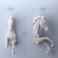 DIY Horse papercraft 3D papercraft PDF Make your own horse
