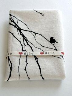'love milo' fabric printing