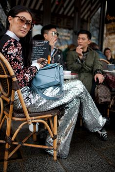 They Are Wearing: Paris Fashion Week Fall 2016 Fashion Now, Fashion Looks, Womens Fashion, Paris Fashion, Street Style 2016, Street Chic, Inspiration Mode, Style Me, Autumn Fashion