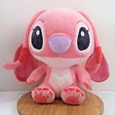 Disney Lilo Stitch Angel Sitting Stuffed Plush Doll Pink 12 Tag Has Been Cut Stitch Toy, Cute Stitch, Little Stitch, Lilo Y Stitch Peluche, Lelo And Stitch, Disney Collage, Disney Souvenirs, Stitch And Angel, Accessoires Iphone
