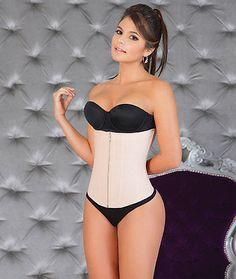 a6fd9278172 94060 Women-Shapewear Fajas Colombianas Salome 315 Reduction WaistCincher w  Zipper Girdle Cinturilla