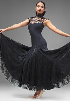Chrisanne Daydream Ballroom Dress| Dancesport Fashion @ DanceShopper.com