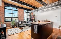 Toy Factory Lofts-43 Hanna Ave #229 Scavolini Kitchens, Lofts For Rent, Post And Beam, Wood Ceilings, Granite Counters, Stainless Steel Appliances, Exposed Brick, The Originals, Toys