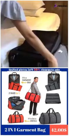 Durable nylon fabric resists water and easy to clean Side clasps hook into zipper pullers on each side, Keeps bag securely closed while in use Perfect for traveling, weekend getaways, school etc Bag Essentials, Mens Luggage, Trendy Purses, Diy Handbag, Luggage Straps, Travel Organization, Weekend Getaways, Weekend Trips, Weekend Humor