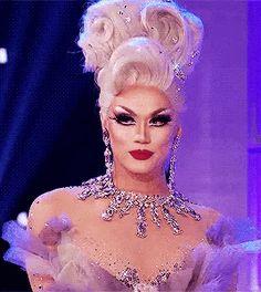 """I am a silver fox. I'm an old bitch and I'm coming here to show you how you do drag, girls. Drag Queen Makeup, Drag Makeup, Valentina Drag, Manila Luzon, Rupaul Drag Queen, Queen Fashion, Lgbt, Crossdressers, Drag Queens"