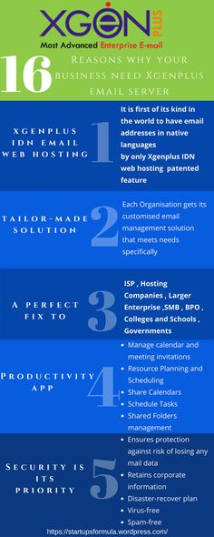 Top 16 Reasons why your business need Xgenplus email management solution