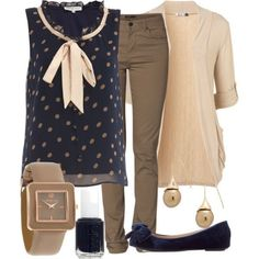 """Teacher Outfits on a Teacher's Budget 50"" by allij28 on Polyvore. Totally not a teacher, but it is business casual appropriate. Totes like"