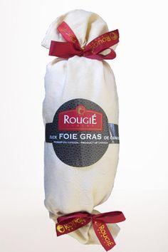 Whole Duck Foie Gras Torchon Style from Rougié 1 Lb