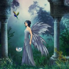 The Fairy of  the purest blue
