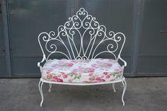 sillas de jardin antiguas - Buscar con Google                                                                                                                                                                                 Más
