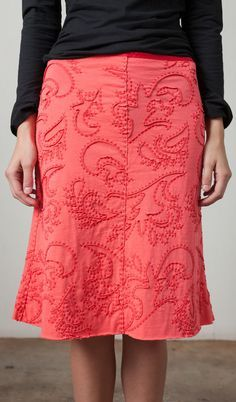 alabama chanin skirt | Alabama Chanin