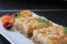 Krupicový koláč s marhuľami « Mňamky Recepty