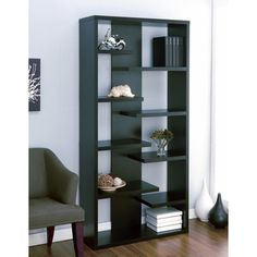 @Overstock - Organize your essentials with this uniquely stylish display cabinet/bookcaseFurniture features unique different leveled contour shelvesCabinet can be position upright or verticalhttp://www.overstock.com/Home-Garden/Lovi-Contoured-Leveled-Display-Cabinet-Bookcase/4105091/product.html?CID=214117 $179.99