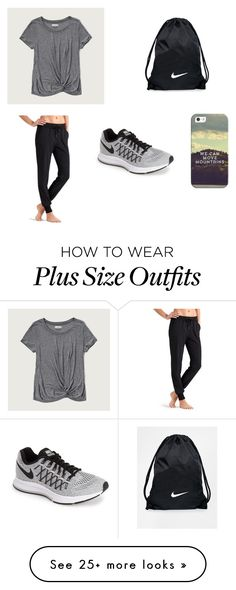"""Casual #61"" by kkmahony on Polyvore featuring NIKE, Athleta, Abercrombie & Fitch and Casetify"