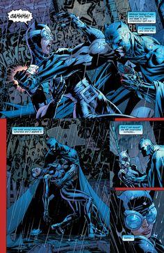 Catwoman and Batman. Batman Love, Batman And Superman, Batman Art, Marvel Dc Comics, Catwoman Y Batman, Batman Hush, Marvel And Dc Characters, Comic Book Characters, Comic Books