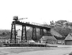 Disused Station: Sandsend Station, N Yorks, after closure, 1958 Old Train Station, Disused Stations, Northern England, British Rail, Middlesbrough, Train Journey, Water Tower, Train Layouts, North Yorkshire