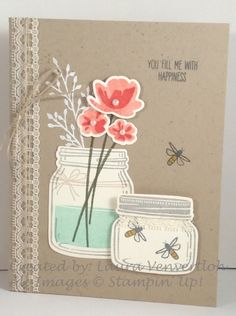 Gentle Jars by ScrappyHappy - Cards and Paper Crafts at Splitcoaststampers