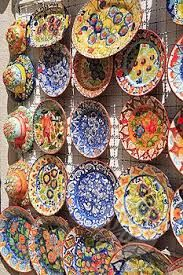 Image result for portuguese pottery olive plates