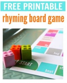 SLP Activity of the Week: Rhyming Board Game Printable - pinned by @PediaStaff – Please Visit ht.ly/63sNt for all our pediatric therapy pins