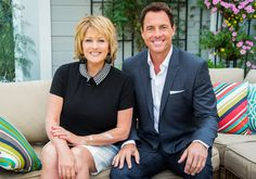 """Find out more about Mark Steines & Cristina Ferrare of """"Home & Family,"""" only on Hallmark Channel."""